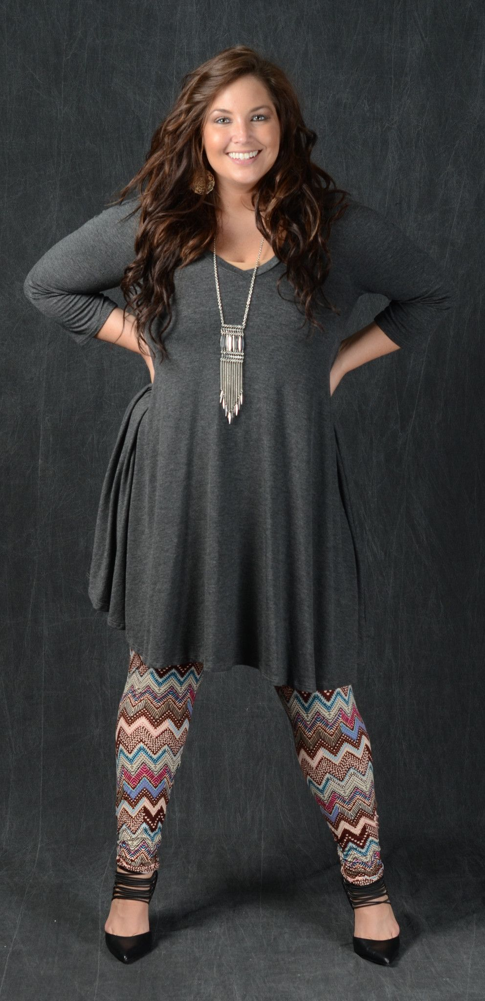 5ddde98c500d0 Chevron Aztec Print Leggings - Curvy Plus Size Boutique - 1 - Sale! Up to  75% OFF! Shop at Stylizio for women s and men s designer handbags