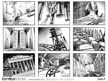 FamousFrames Storyboards, Animatic Artists, Storyboard Artists, Ivan Pavlovits