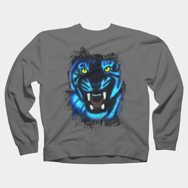 RoaARR Girls Youth Graphic T Shirt Design By Humans Black Panther
