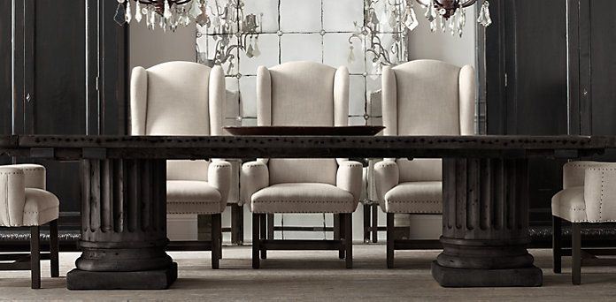 RHu0027s Rectangular Table Collections:At Restoration Hardware, Youu0027ll Explore  An Exceptional World Of High Quality Unique Dining Room Furniture. Part 95