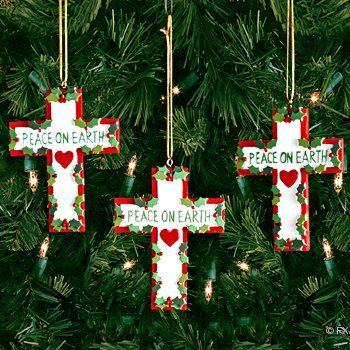 christian crafts christian christmas ornaments craft kits and supplies - Christian Christmas Decorations