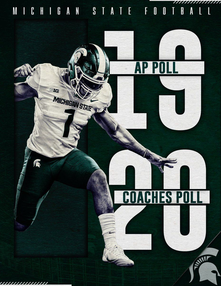 Michigan State Football On Twitter This Weeks Rankings For Is The