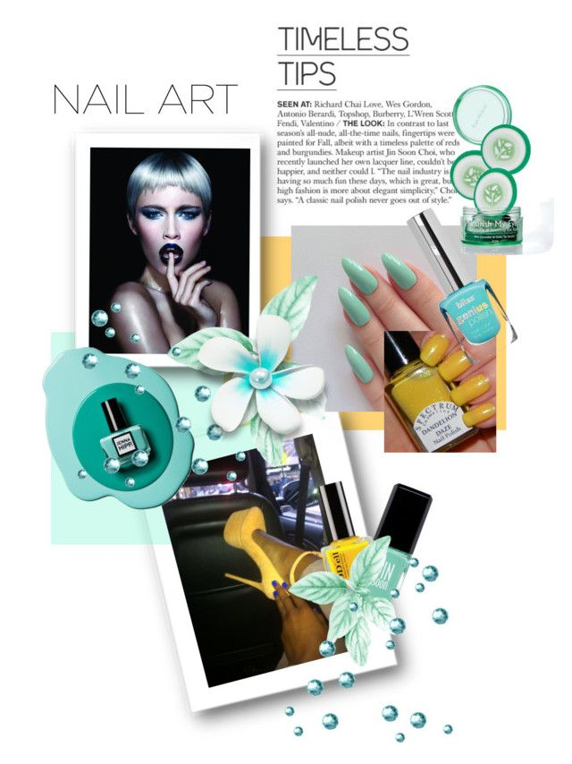 """""""Pastel Nails"""" by kari-c ❤ liked on Polyvore featuring beauty, Wella, Jin Soon, Beauty and pastelnails"""
