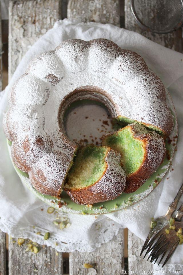 Tinas Tausendschon Pistazien Marmor Gugelhupf Kuchen Pinterest
