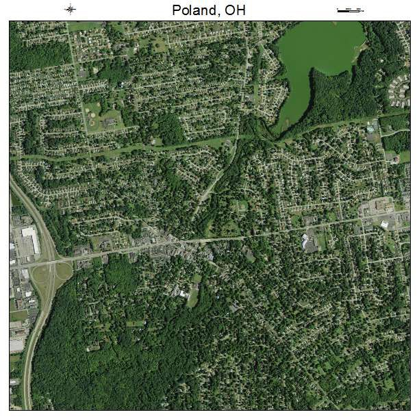 Poland Ohio Poland Oh Ohio Aerial Photography Map Poland Ohio