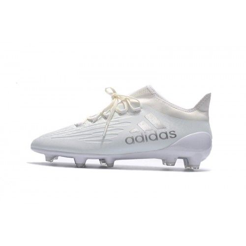 promo code 44492 dddec Adidas X 16+ Purechaos FG AG - Acheter 2017 Adidas X 16 Purechaos FG AG  Blanc Chaussures De Football