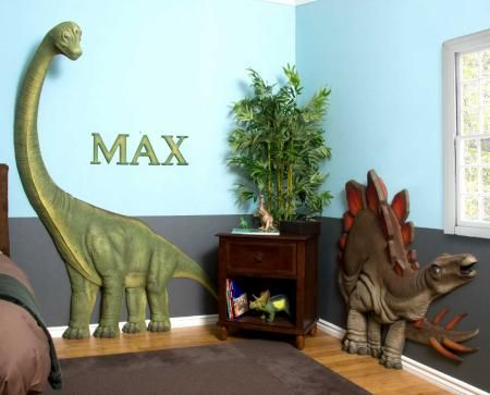 Charmant 3D Dinosaur Decor (painted Foam And Kid Safe)
