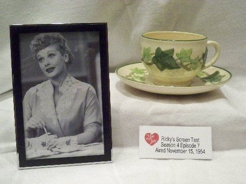VINTAGE FRANCISCAN IVY CUP SAUCER PROP LIKE I LOVE LUCY PHOTO Lucille Ball CHINA  sc 1 st  Pinterest & VINTAGE FRANCISCAN IVY CUP SAUCER PROP LIKE I LOVE LUCY PHOTO ...
