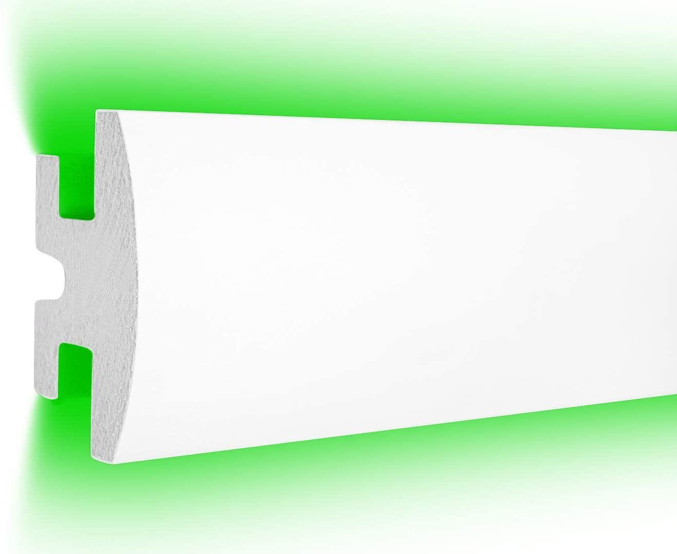 Led Trockenbau Profil Fur Indirekte Beleuchtung 1 15 M 90x50mm Rigips Xps Lichtvoute Leisten Fur Gipspl In 2020 Indirekte Beleuchtung Trockenbau Trockenbau Profile