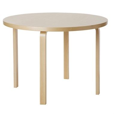 90 Table Artek Alvar Aalto Modern Dining Table Table