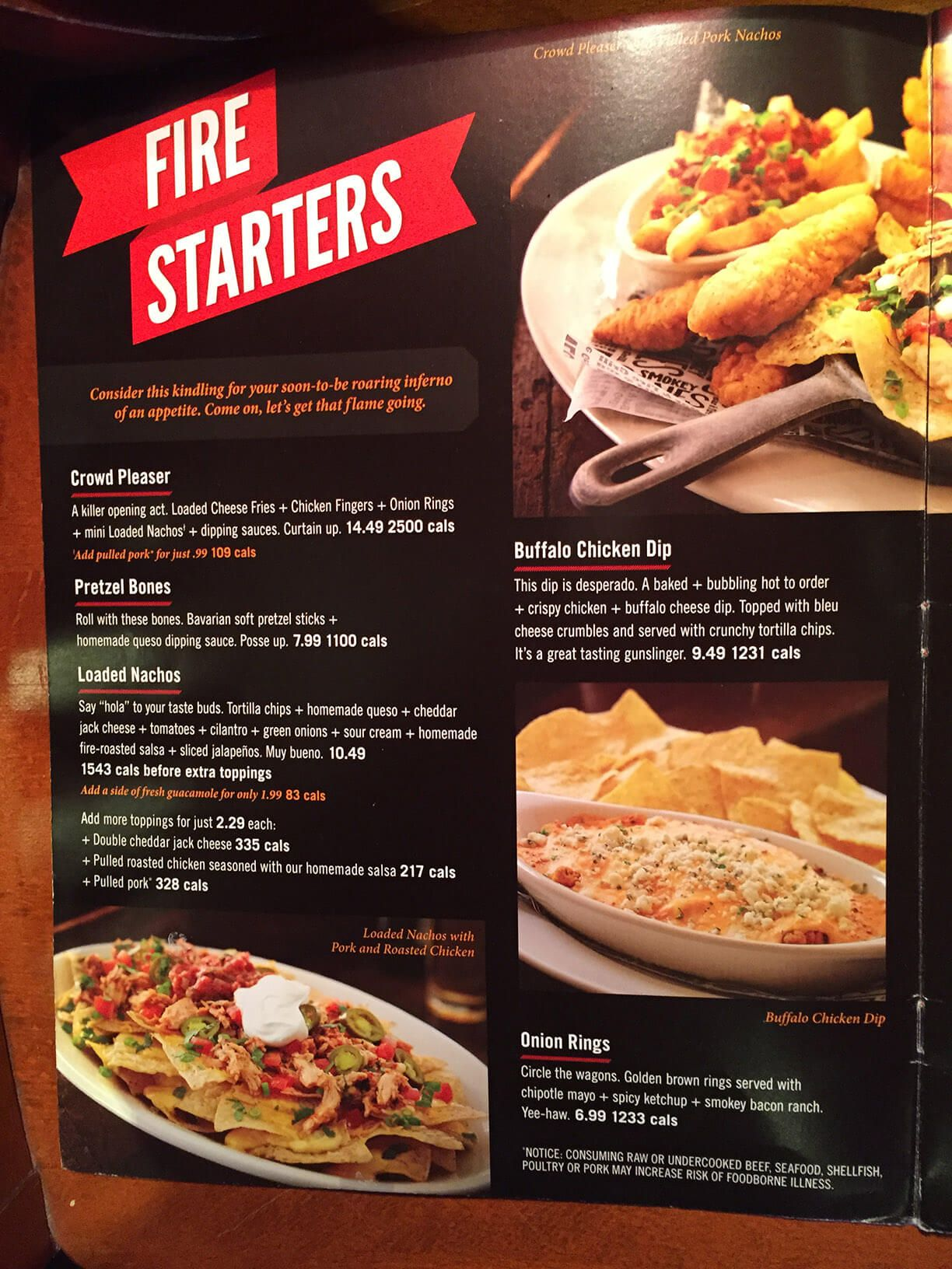 recipe: smokey bones menu [2]