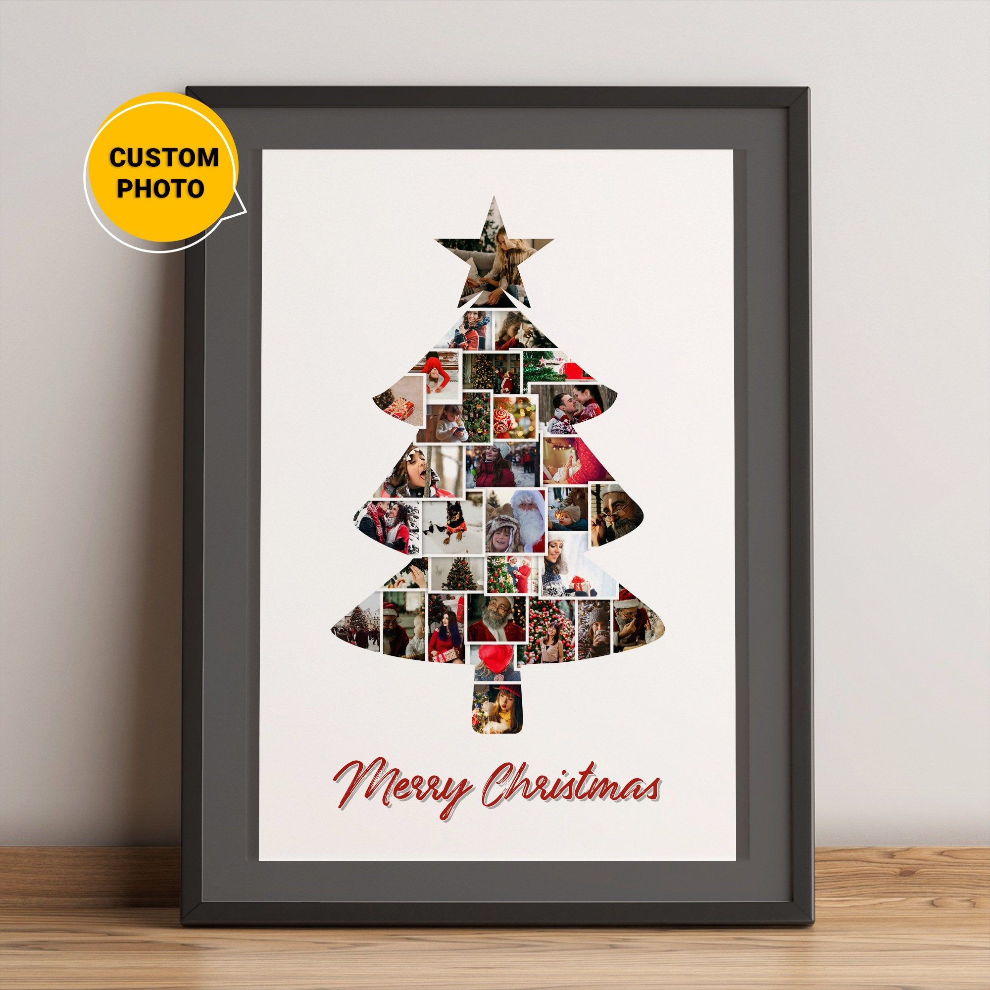 Christmas Tree Decoration Printchristmas Tree Poster Etsy Christmas Photo Album Christmas Tree Poster Personalized Christmas Gifts