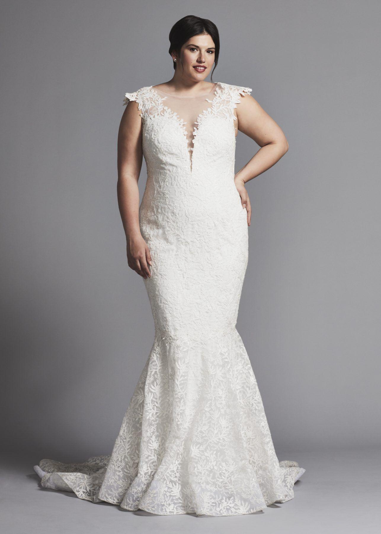 27+ White mermaid wedding dress with sleeves ideas in 2021
