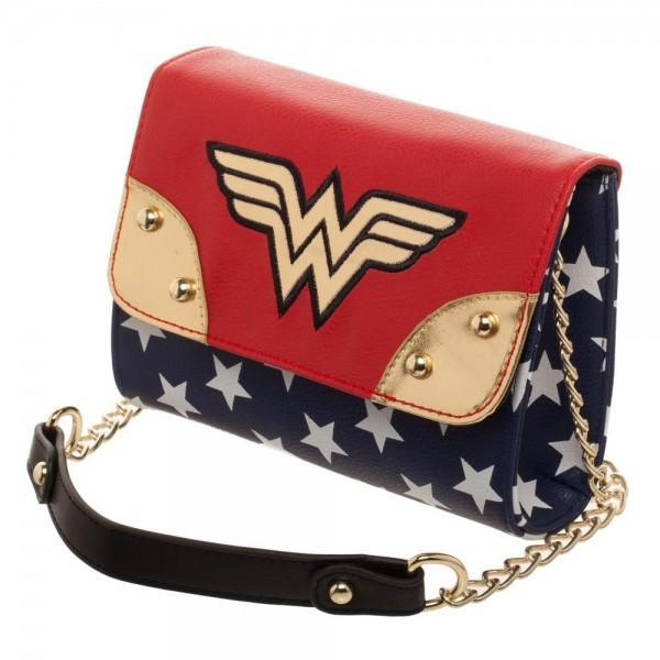The Lasso Of Truth And Shield Themyscira Won T Fit In This Wonder Woman Movie Jrs Sidekick Mini Handbag But Your Wallet Cell Phone