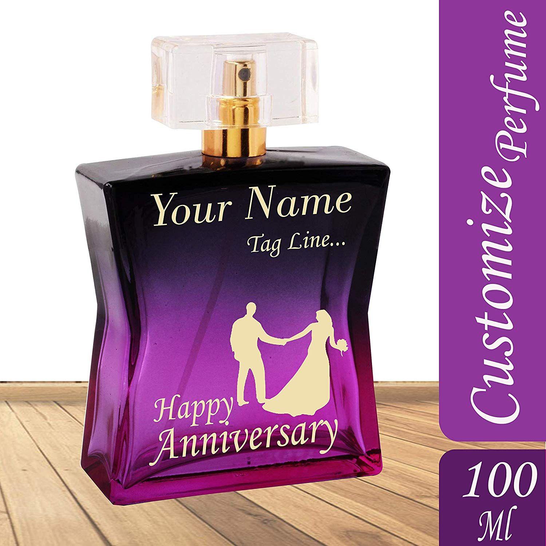 Buy best memorable personalised perfume anniversarygifts