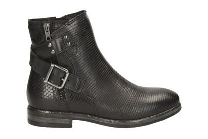 31b38693081 Clarks Sicilly Dove, Black Leather, Womens Casual Boots | Oh my God ...