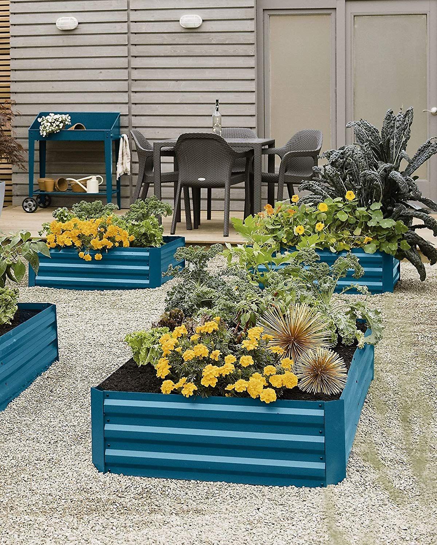 AmazonSmile : Gardener's Supply Company Corrugated Metal