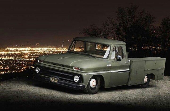 1965 Chevy Utility Truck Utility Truck C10 Chevy Truck Chevy