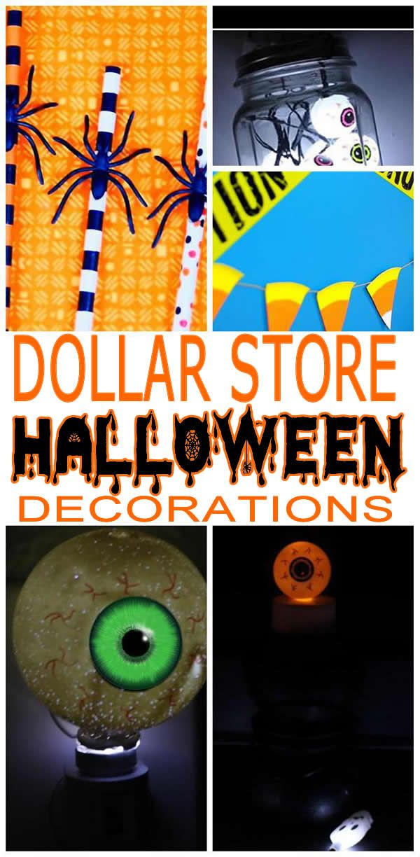 BOO! Halloween decor! Easy and budget friendly Dollar Store