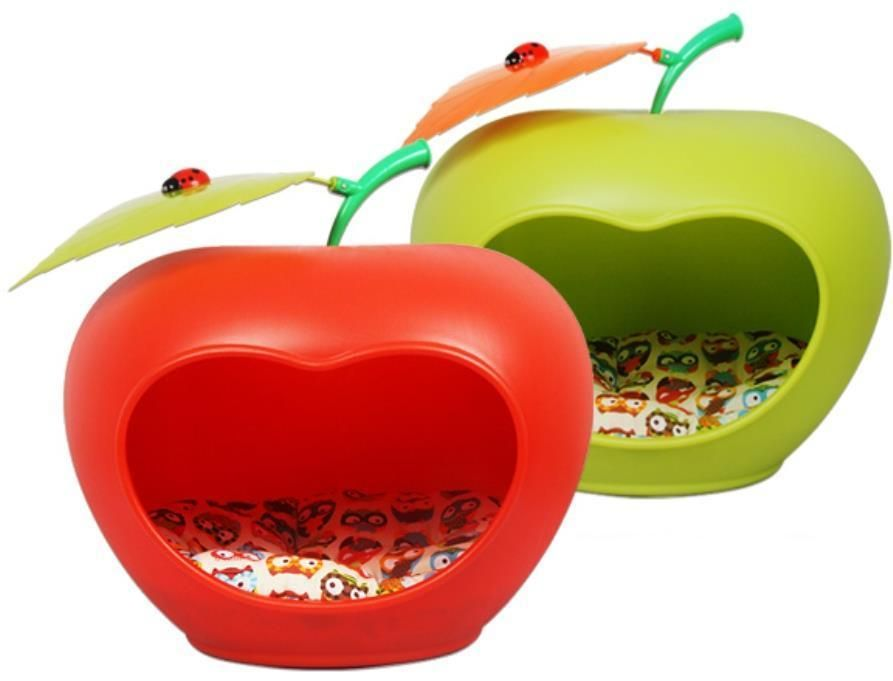 Image result for apple cat bed