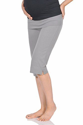 d4e3f7aa026c4 Beachcoco Women's Maternity Comfortable Knee Cropped Acti... https://www.