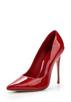 Туфли Schutz, цвет: красный. Артикул: SC963AWGBW65. Женская обувь / Туфли / Туфли на шпильке
