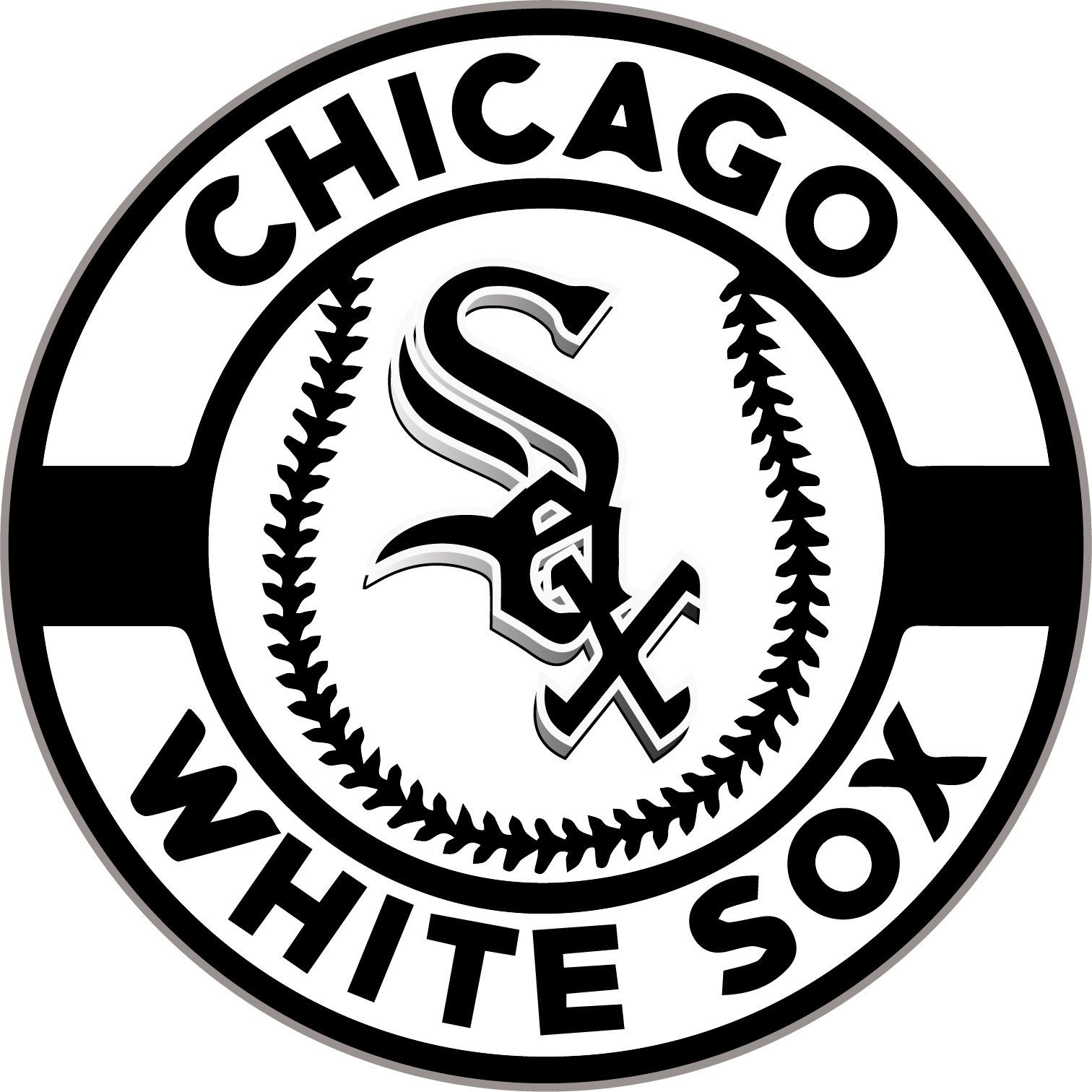 Chicago White Sox Vinyl Decal for laptop windows wall car boat a