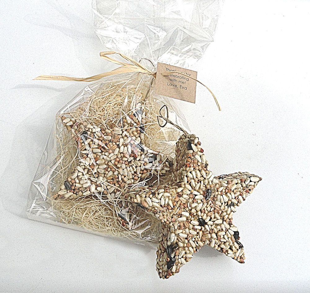 Edible Bird Seed Wedding Favor Stars Birds Love - personalized ...