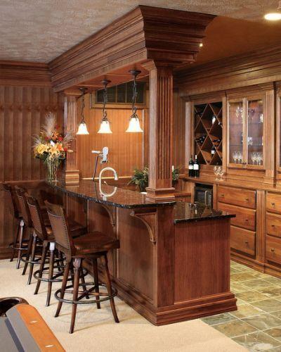 Bar Ideas For Finished Basement   Outside   Pinterest   Basements, Bar And  Men Cave