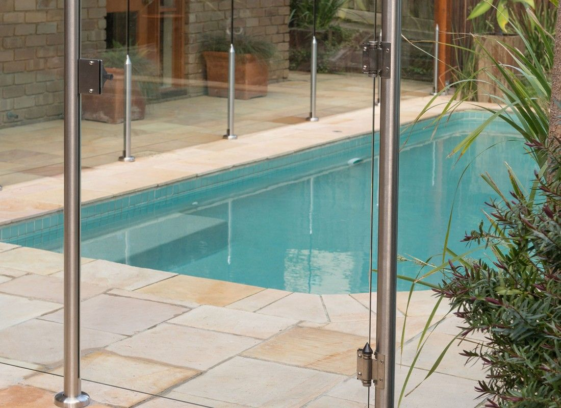 Stainless steel diy semi frameless glass fence posts from everton buy semi frameless pool fencing with stainless steel posts from everton for a modern designer look exceptional panel support and an affordable price baanklon Images