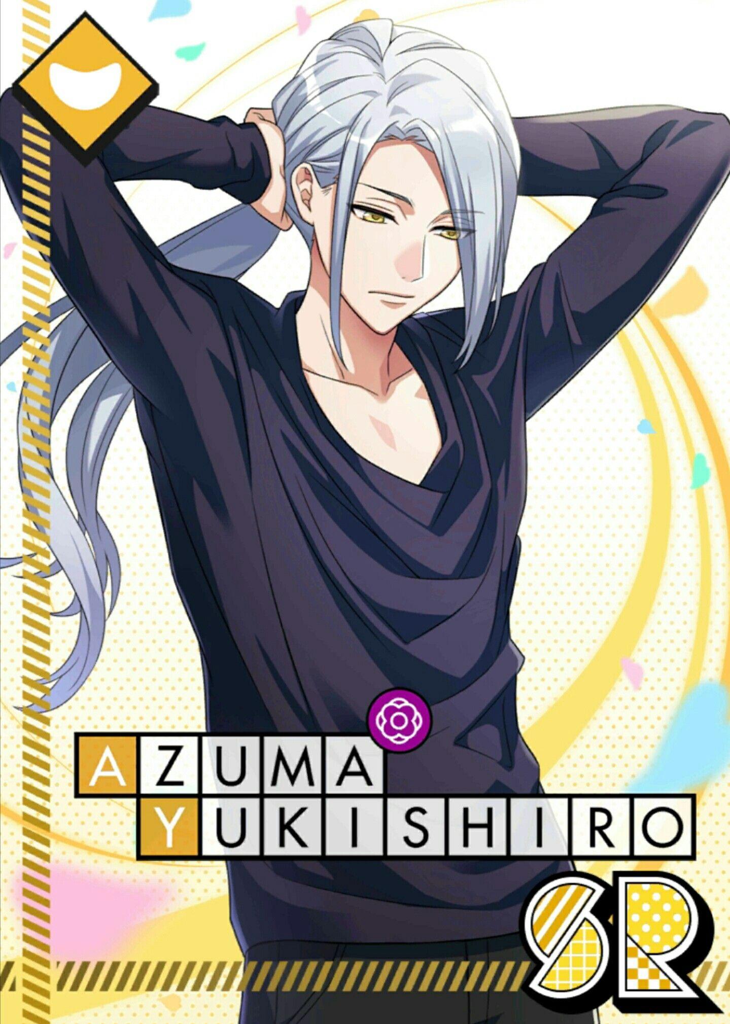 Azuma Yukishiro Anime boy long hair, Anime guy long hair