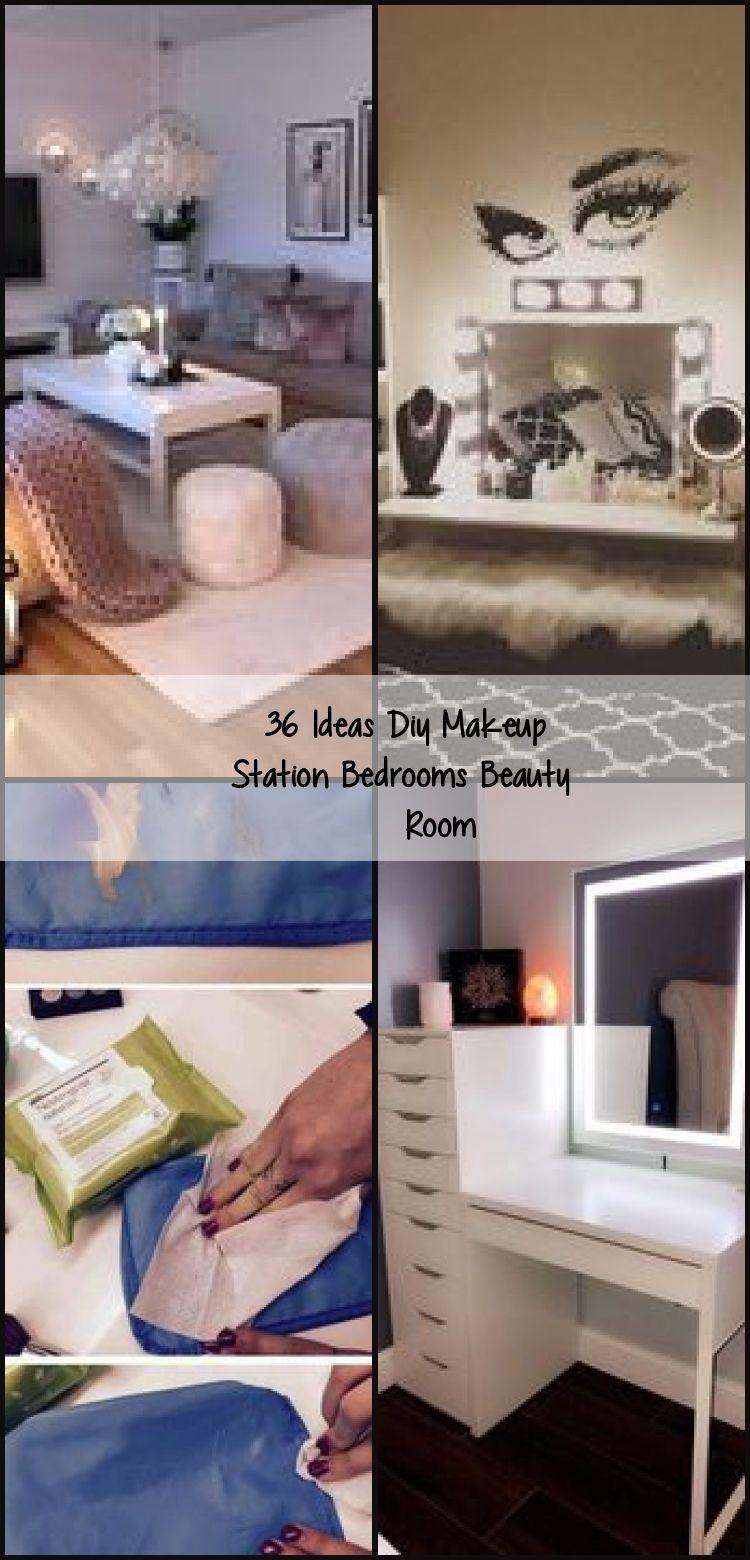 36 Ideas Diy Makeup Station Bedrooms Beauty Room, # ...