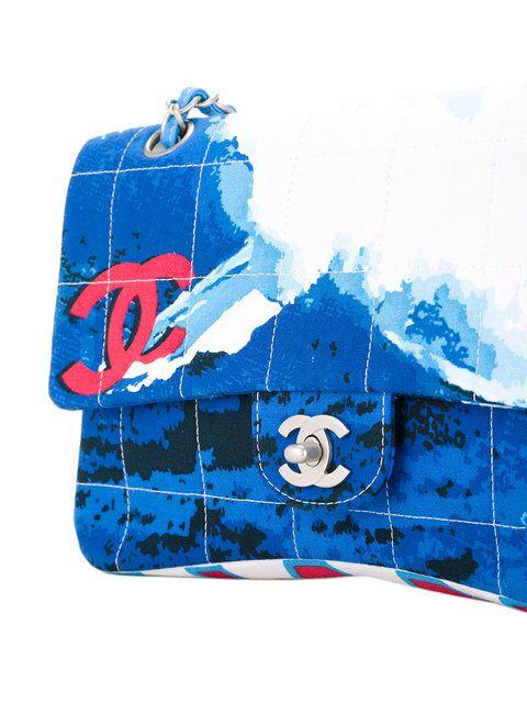 0a29c2232584 Chanel Vintage surf line quilted CC shoulder bag | Clutches ...