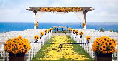 Morena Flor Glamour: Casamento: Decoração - Cerimônia ao ar livre