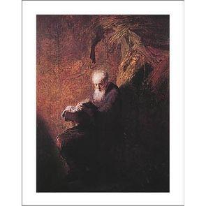 ''Philosopher Reading'' by Rembrandt van Rijn Art Masters Art Print