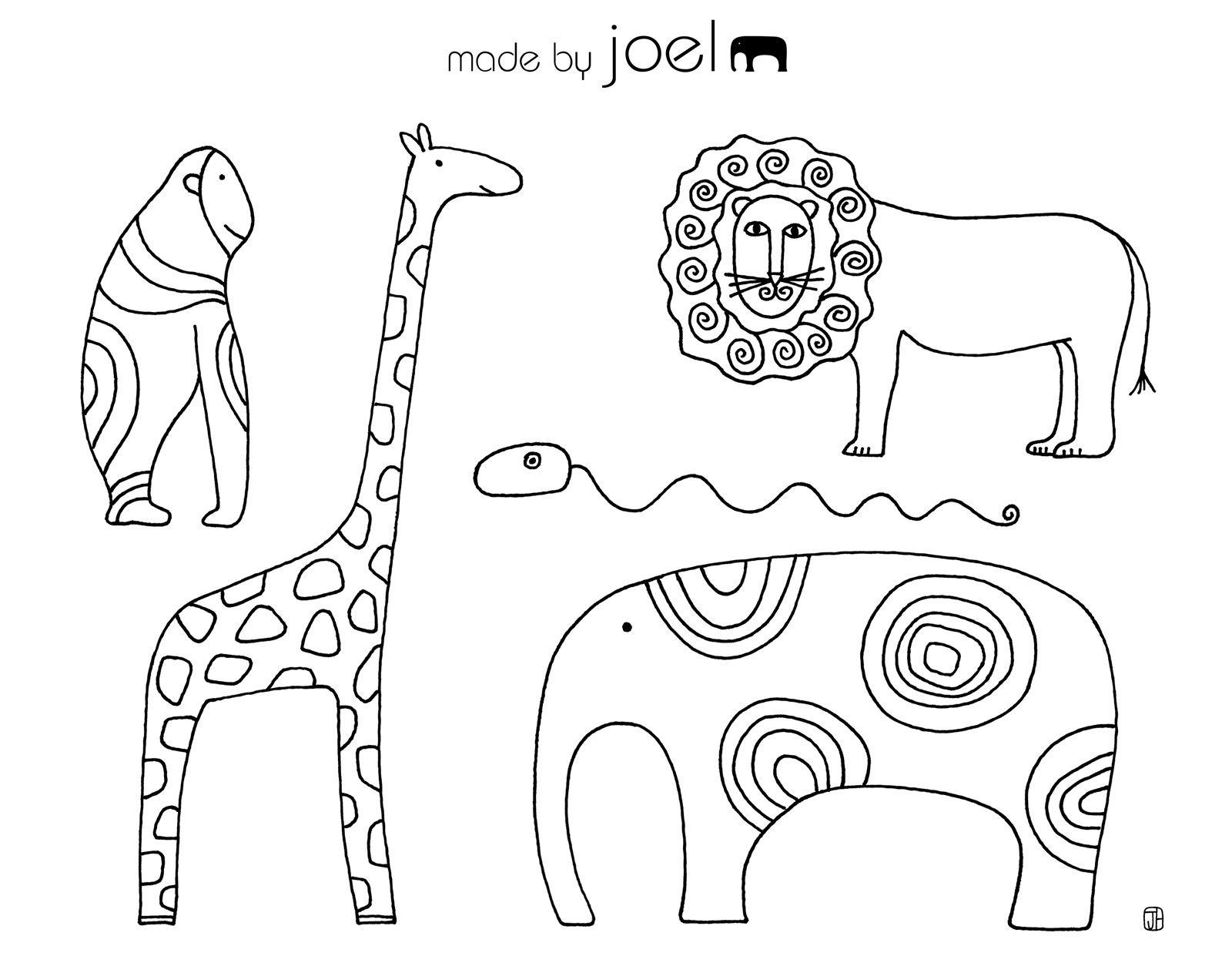 Desenhos De Flores E De Animais Para Imprimir Folhas Para
