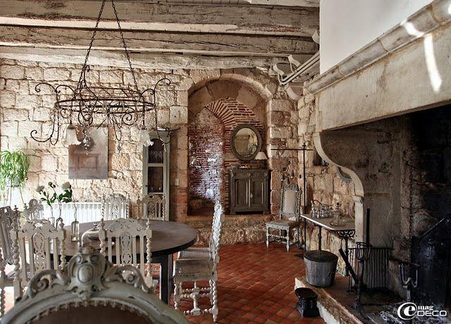 Real country french pas de pierre deux interiors love decor