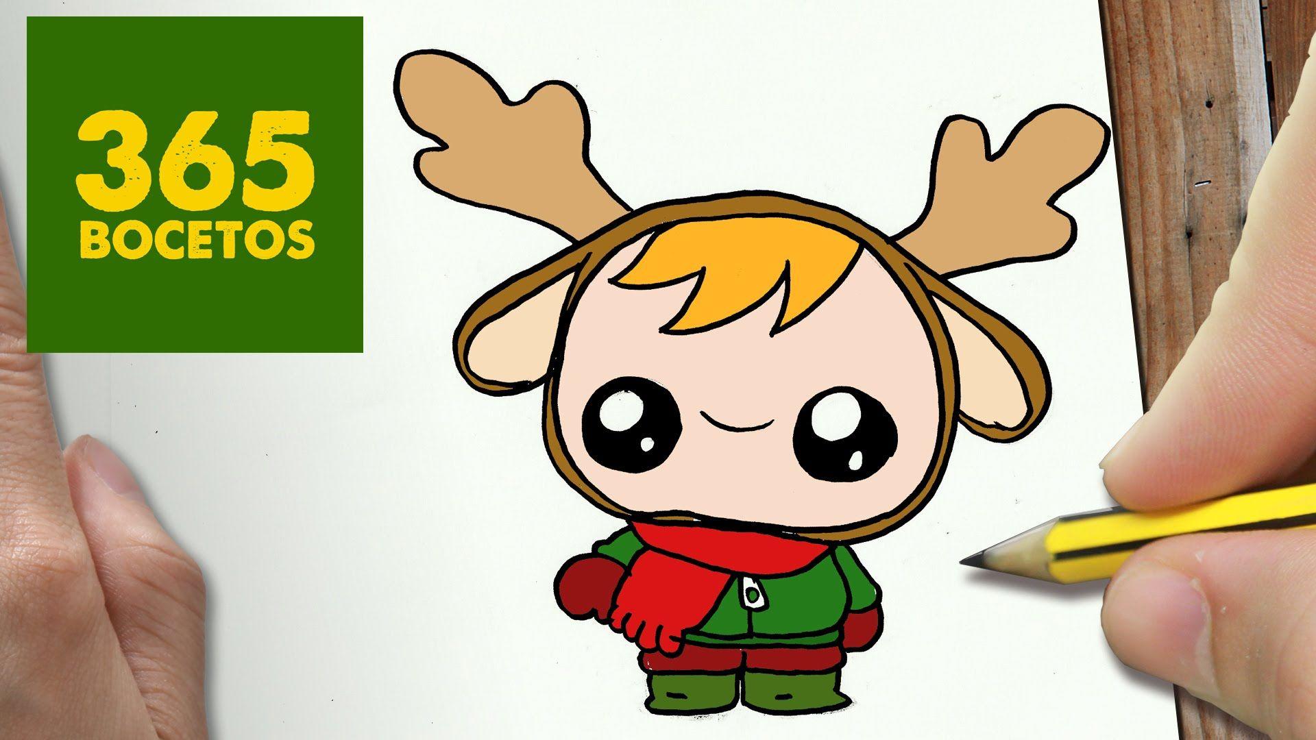 Dibujos Kawaii De Navidad De Renos Regalos Populares De