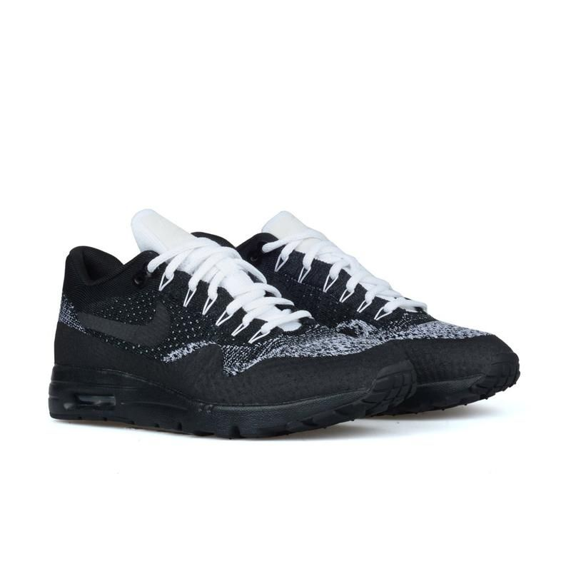watch a00db 90c36 WOMEN'S NIKE AIR MAX 1 ULTRA FLYKNIT BLACK / ANTHRACITE-WHITE-METALLIC  SILVER 859517-001
