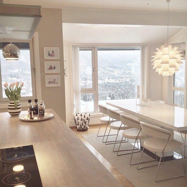 Preciosa Casa De Estilo Nordico En Noruega Diseno De Interiores
