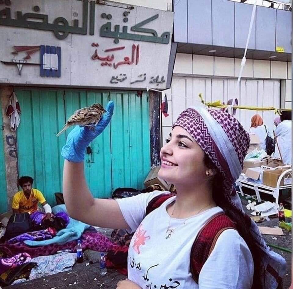Disney princess, Iraqi Protester style. pics in 2020
