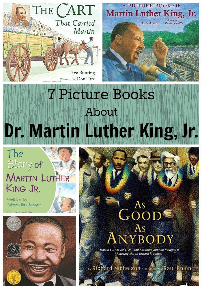 7 Picture Books About Dr Martin Luther King Jr Fundamental