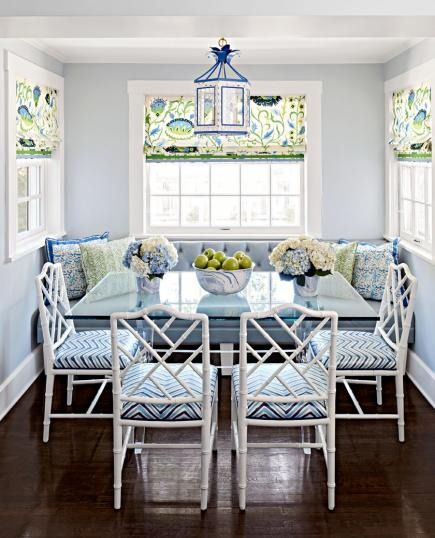 A Classic Home Holds Color Secrets Inside #allwhiteroom