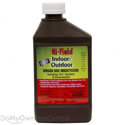 Hi Yield Indoor Outdoor Broad Use Insecticide Bed Bug Spray Best Pest Control Pests