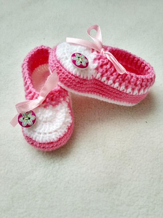 e3ed6e77b7943 Newborn Booties Girl | Newborn Sneakers | Baby Girl Booties 0 3 ...