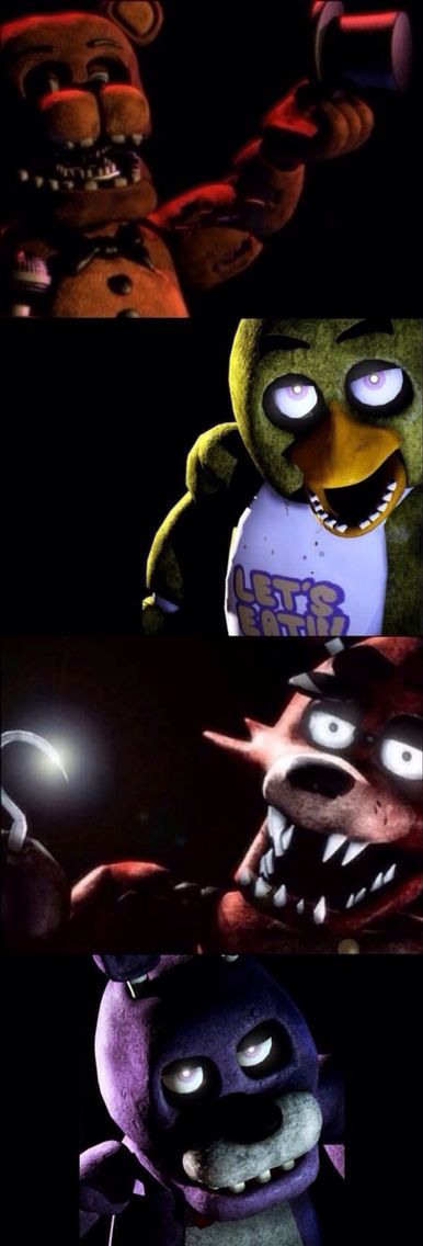"""Five Nights at Freddy's."" I wasn't planning on going to a Chuck E. Cheese's any time soon, but after this game came out...I'm definitely never going again. Nightmare fuel."