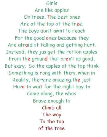 Apple Tree Quote Friendship Quotes Funny Funny Girly Quote Girly Quotes