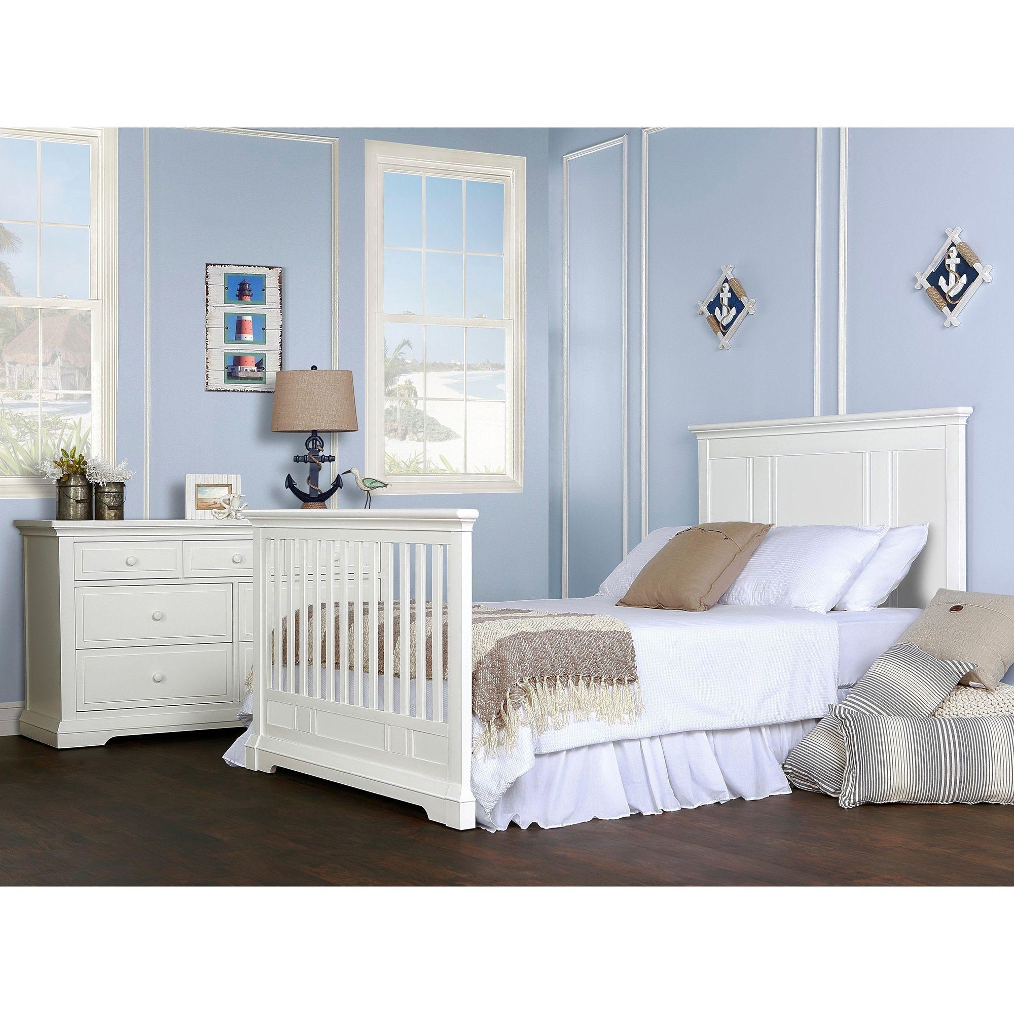 Evolur Convertible Crib en Full Size Bed Rail