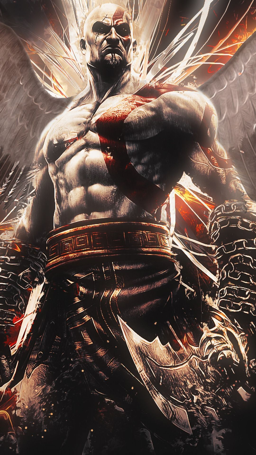 Kratos God Of War Hd Wallpapers Backgrounds Wallpaper God