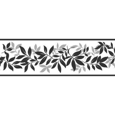 Brewster Floral Multi Color Wallpaper Border Tfdb07508s The Home Depot In 2021 Wallpaper Border Peel And Stick Wallpaper Leaf Wallpaper